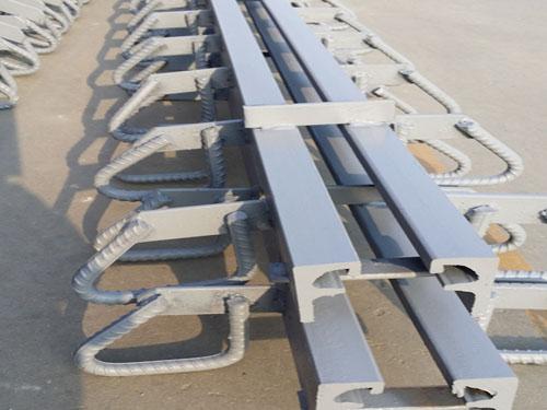 在设置伸缩缝处,栏杆与桥面铺装都要断开.